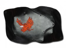 Roadsmtih Trike Honda 1800 Fender Bras Embroidered Flaming Eagle Long