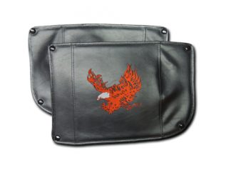 Champion Trike Honda 1800 Fender Bras Embroidered Flaming Eagle Short