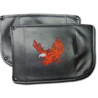 Champion Trike Honda 1800 Fender Bras Embroidered Flaming Eagle Short