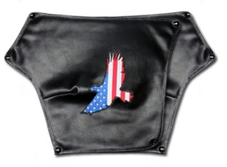 Hannigan Trike Honda 1800 Fender Bras Embroidered American Eagle