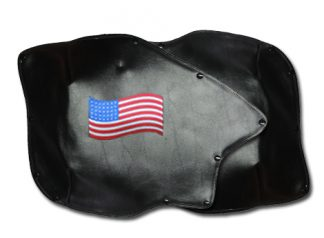 Roadsmith Trike Honda 1800 Fender Bras Embroidered American Flag Long
