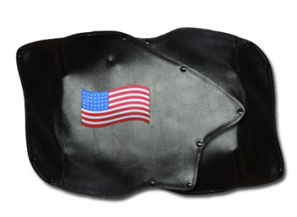 Roadsmith Trike Honda 1800 Fender Bras Embroidered American Flag Long