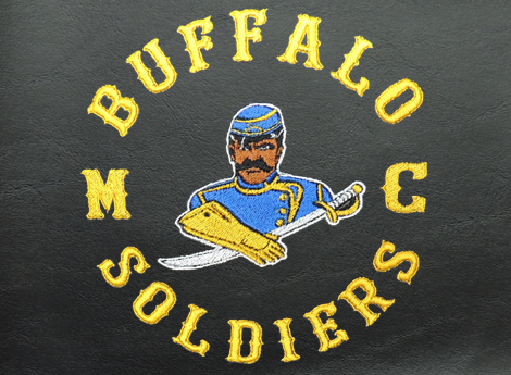 buffalo soldiers motorcycle club logo