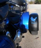 Can Am Trike >> Harley Freewheeler Fender Bras - Flaming Eagle