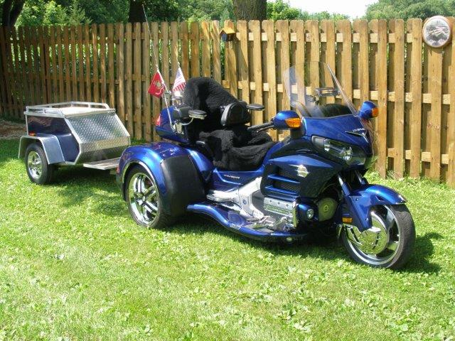 California Side Car - Viper Trike Fender Bra