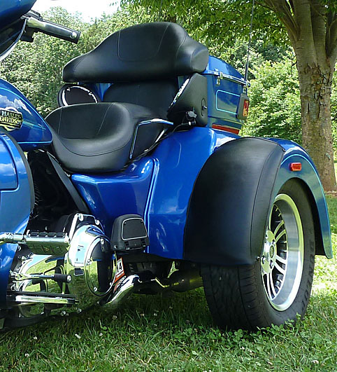 Harley Tri Glide - Trike Fender Bra