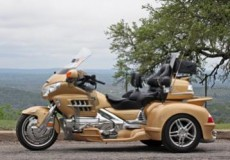 Hannigan Trike Clear Guard Fender Bras